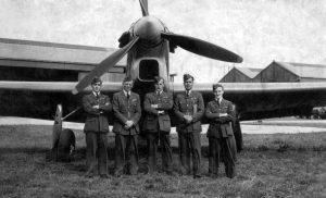 """""""B"""" Flight - No.1 A.O.S. (Air Observer School) - 1939"""