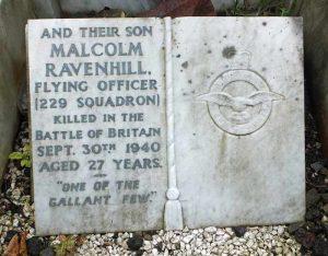 Malcolm's Grave, City Road Cemetery, Sheffield